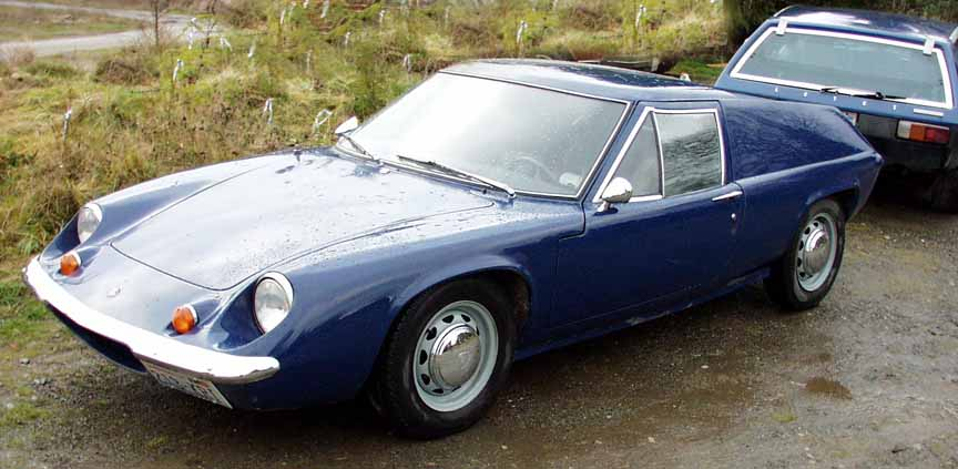 Lotus Europa Paint Codes