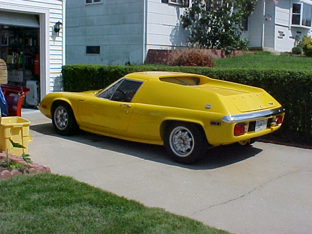 Lotus Europa First 100 Cars